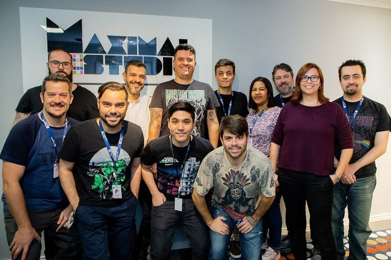 Keywords Studios Audio team at the Maximal studio in Brazil