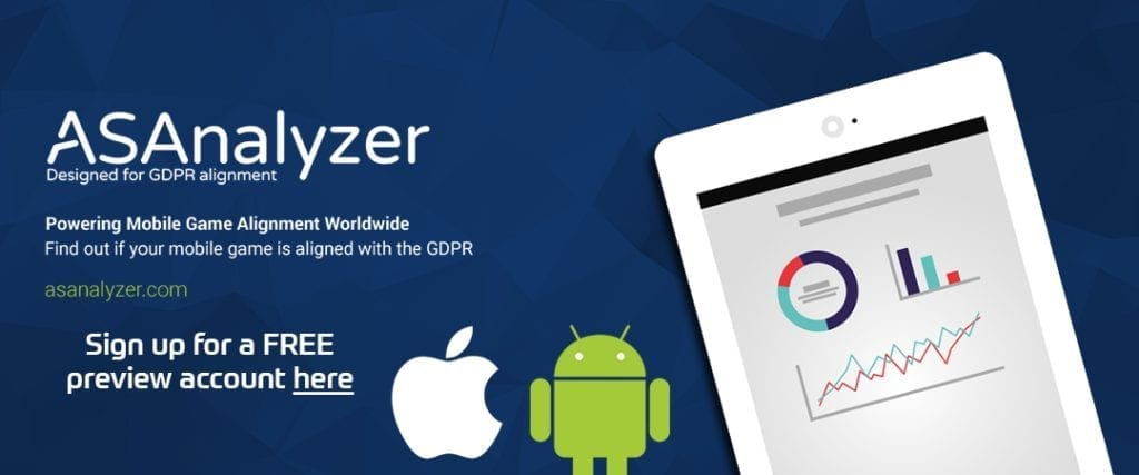 ASAnalyzer GDPR alignment tool free account banner 2019