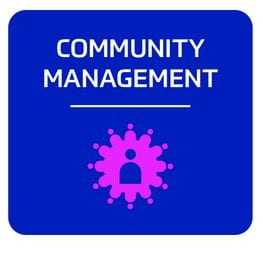 Community management services icon
