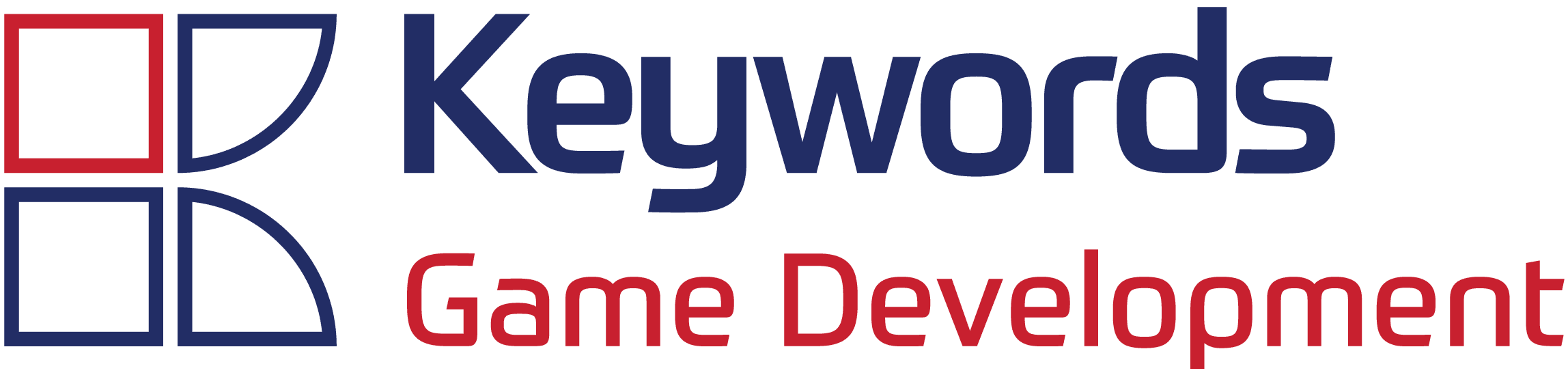 Keywords Game Development logo