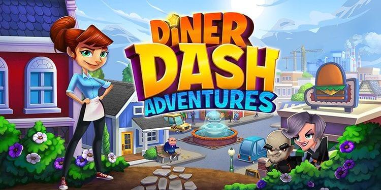 Diner Dash Adventures Poster