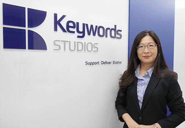 Keywords Studios in Tokyo General Manager Fumiko Okura