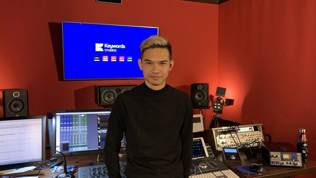 Jonny Koy, Audio Technical manager, Keywords Studios in Paris