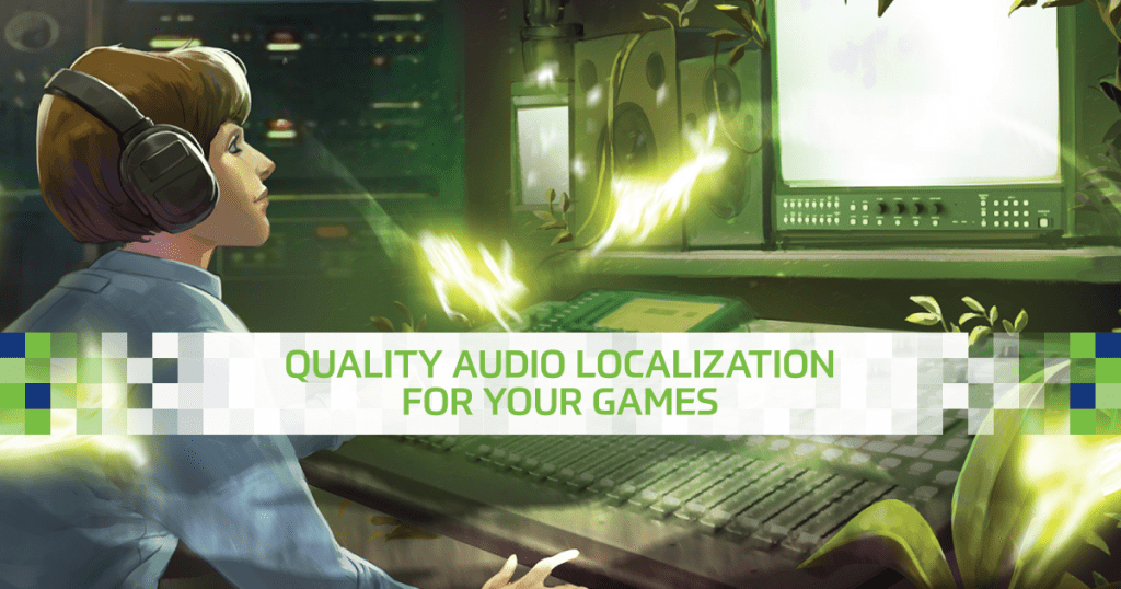Keywords Studios Audio Localization Solutions Brief Banner